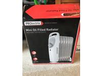 Prolectric mini oil filled radiator (money going to charity)