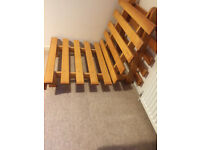 Ikea single bed futon frame -can deliver locally