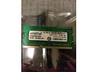 4GB Crucial DDR3 Memory