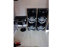 Panasonic Sc-max370 stereo system