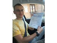 Driving lessons with a friendly reliable driving instructor