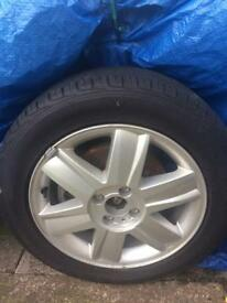 Renault Megane Mk2 Convertible alloy & wheel