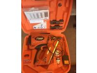 PASLODE IM350+ NAIL 2XBATTERIES AND CHARGER USED BUT IN EXCELLENT ORDER