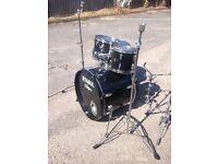 Black Tama Imperialstar Drum Kit