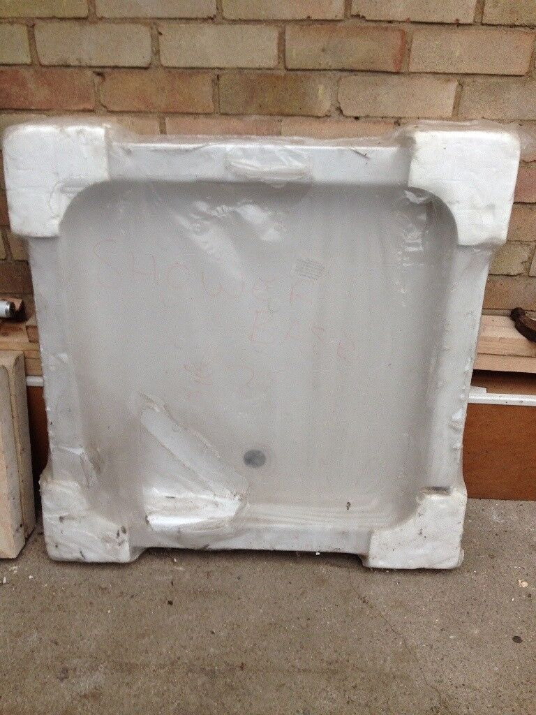 New shower tray 35in x35 in only £20 new