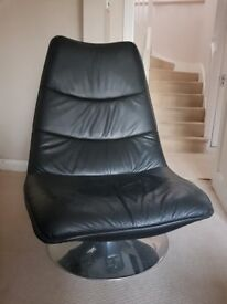 Luxury Black Leather Chair