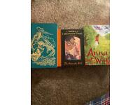 Heidi book , a series of unfortunate events and ana at war