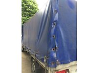 Mercedes sprinter alloy body curtain side back of 313 lwb