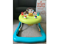 Bright Starts Pattern Pals Baby Walker - Excellent Condition
