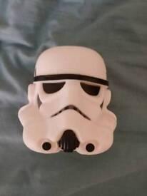Light up stormtrooper head