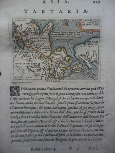 Tartaria California map Botero 1599