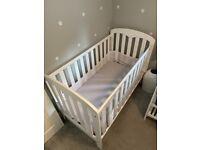 White John Lewis Nursery Furniture Set