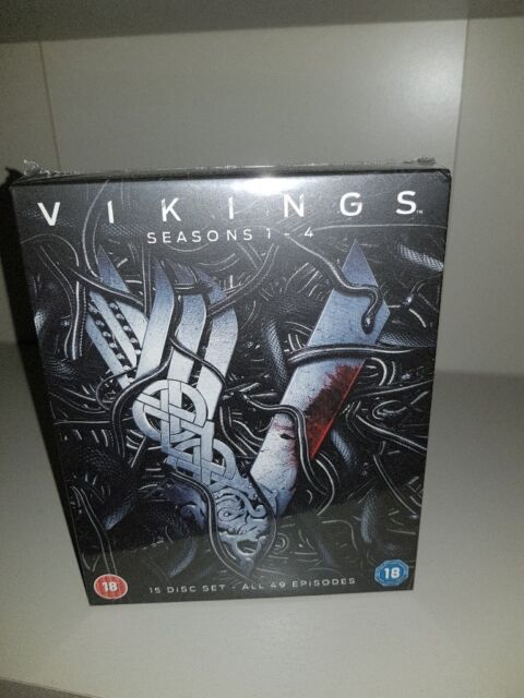 Vikings blu ray seasons 1-4 new | in Ellesmere Port, Cheshire | Gumtree