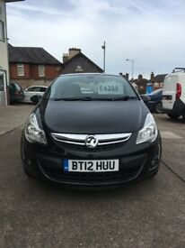 2012 Vauxhall Corsa , Low mileage , Half leather interior , Brilliant on fuel , Lovely clean car