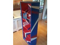 Painted Handmade Bookshelves - REDUCED