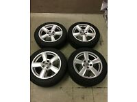 16 inch Audi RS6 style alloy wheels 5x112 Vw Golf Jetta and Caddy