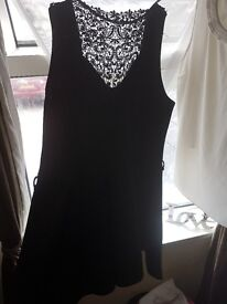Brand new black dress. Size 20