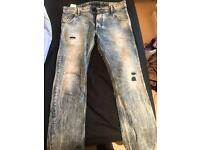 Diesel Krooley jeans with cool wash