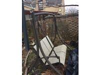 2 seater garden swing seat