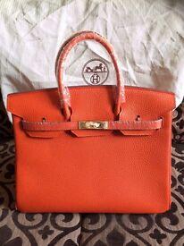 Hermes Bag Orange