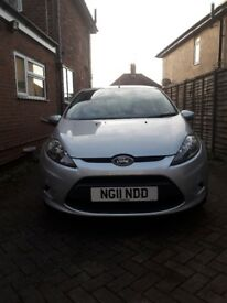 Ford fiesta 1.4 tdci 2011 cat s repaired very low mileage