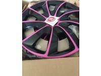 WHEEL TRIM COVERS FOR FIAT 500