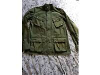 Genuine Barbour International mens jacket M excellent condition