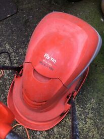 Flymo Mow n Vac lawnmower