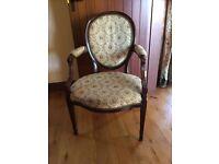 Genuine Georgian Period Mahogany Chair