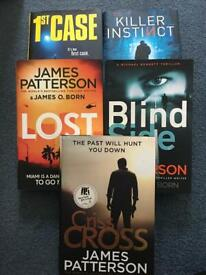 James Patterson Hard BackBooks