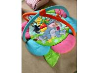Winnie the pooh play mat reversable