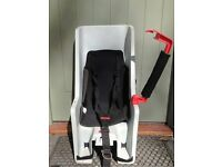 CoPilot child seat and rack. Used but in good working order.