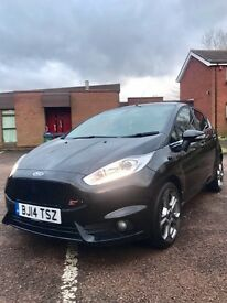 FORD FIESTA 2014 5DR ST 1.0 EcoTec ST REPLICA FULL GENUINE ST INSIDE/OUT TAX FREE 25K MILES MINT