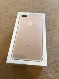 Iphone 7 plus - sealed, brand new. 520 ono