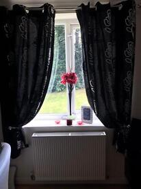 Two pair of curtains