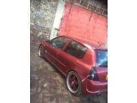 Clio 172 sport track or project car swap px