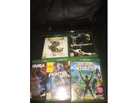 X box one 500 gb with wireless controller Kinect sensor