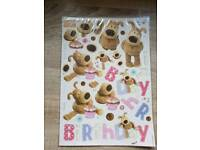 Boofle decoupage pack