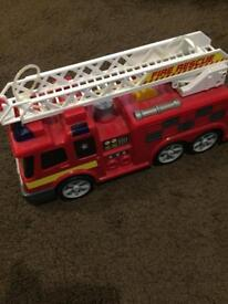 Giant fire truck