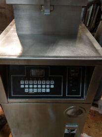 BKI pressure chicken fryer machine nat gas