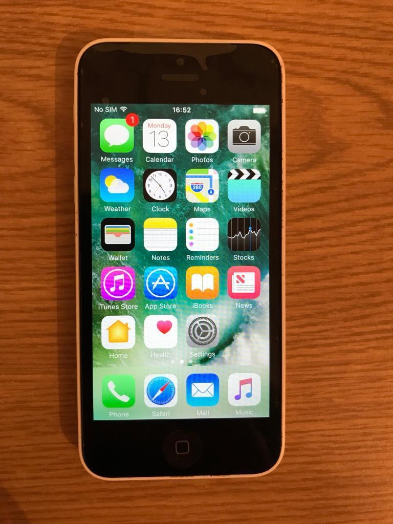 Apple iPhone 5c white 8gb EE unlocked perfect condition