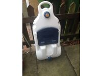 Waster Hog Water container on wheels. Hardly used, genuine reason for sale.