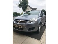 Vauxhall Zafira 7 seater 1.9cdti only 63k full s/h
