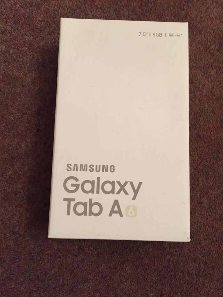"""Galaxy Samsung Tab A 8 gb 7"""""""
