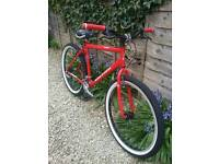 Custom Raleigh Max bike (features new whitewall tyres, grips and brake pads)
