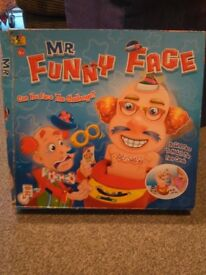 Children's Mr Funny Face game