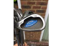 Callaway steelhead x16 left handed irons 4-SW
