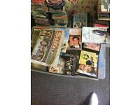 Books, CDs, DVDs, Uncased CDs and DVDs