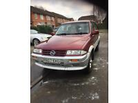 Ssangyong Musso 2.9 Diesel 4x4, low miles, full MOT