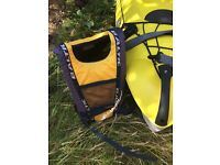 BIC Bilbao Kayak with paddle, seat and life jacket. Excellent condition